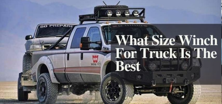What size winch for truck