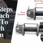 how to attach cable to winch drum