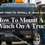 how to mount a winch on a truck