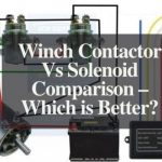 winch contactor vs solenoid