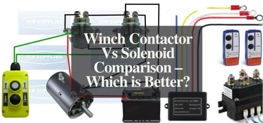 winch contactor vs solenoid