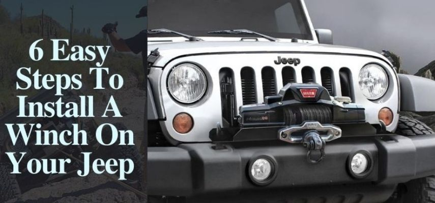 how to install a winch on a jeep