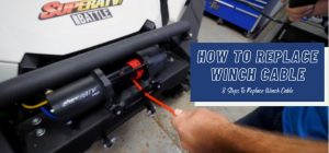 how to replace winch cable