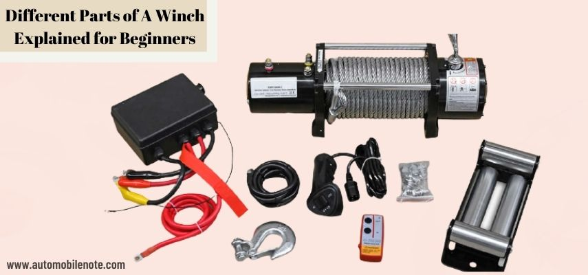 Parts of A Winch